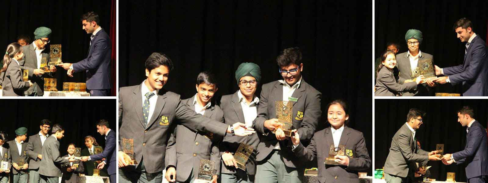 <span class='span1'>Winning the music in solo and fusion</span> </br></br><span class='span2'>at Wynberg Allen School, Mussoorie</span>